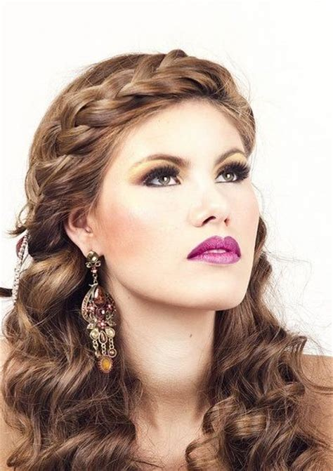 headband braid hairstyles dailymotion braids curls and wedding on pinterest