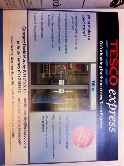 express locations tesco express hunt suitable locations shopfronts