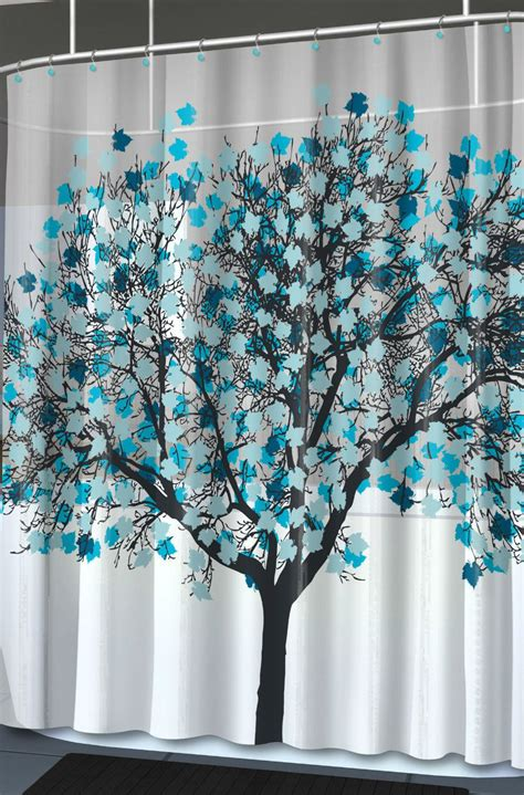 Graphic Shower Curtains New Blue Foliage Unique Tree Graphic Home Shower Curtain 70 Quot X 72 Quot Bathroom Tub Shower Curtains