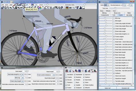 Online 3d Design Program bikecad lets you design your dream bicycle online for