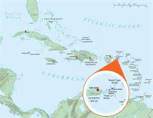 florida and caribbean map where is the u s islands geography