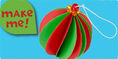 How To Make A Paper Bauble - micador paper baubles