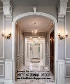 decorative wall molding or wall moulding styles concepts
