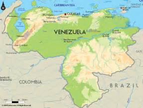 Venezuela On World Map by Orinoco River World Map Images Amp Pictures Becuo
