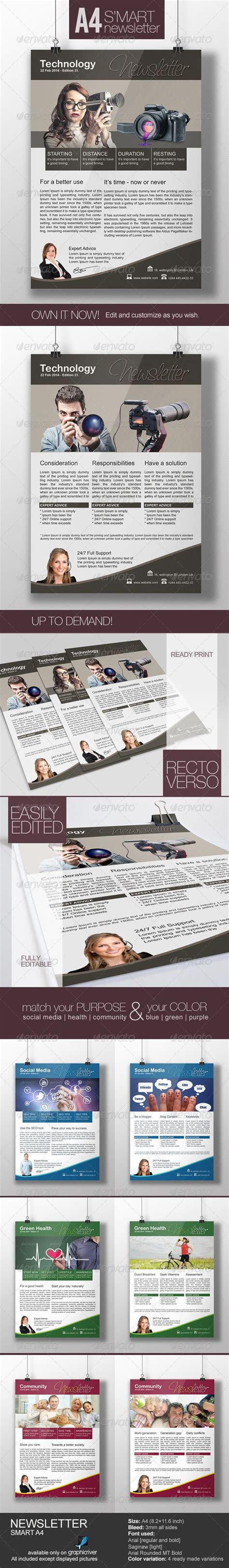 17 Best Images About Newsletter Exles Adobe Photoshop On Pinterest Newsletter Templates How To Create A Newsletter Template In Photoshop