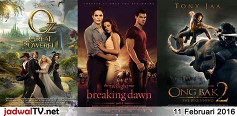 jadwal film indonesia februari 2016 jadwal film 11 februari 2016 jadwal tv