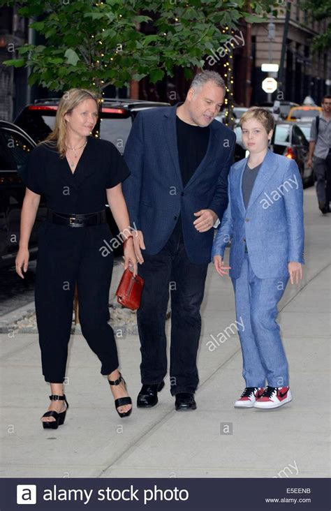 vincent d onofrio and wife new york ny usa 29th july 2014 vincent d onofrio with