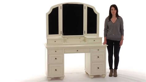 pottery barn vanity table stylize your dressing area with this vanity table
