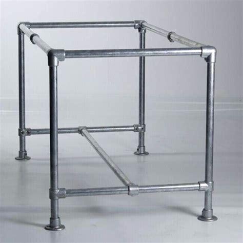 pvc table diseno  pinterest pipe desk