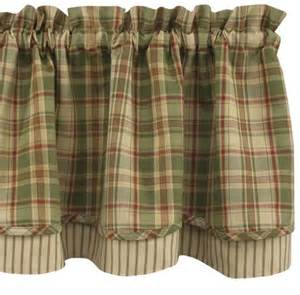 Plaid Kitchen Curtains Country Curtains Bj S Country Charm Green Plaid Shower Curtain Park Designs Kitchens