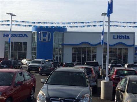 lithia honda medford lithia honda of medford medford or 97504 car dealership