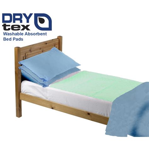 absorbent bed pads drytex 174 washable bed pads for affordable incontinence