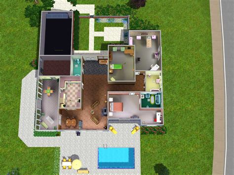 Sims 3 Family House Plans Sims 3 House Plans Modern House Designs Plans For 30x40 Bracioroom