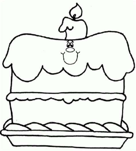 birthday cake coloring page crafts and worksheets for
