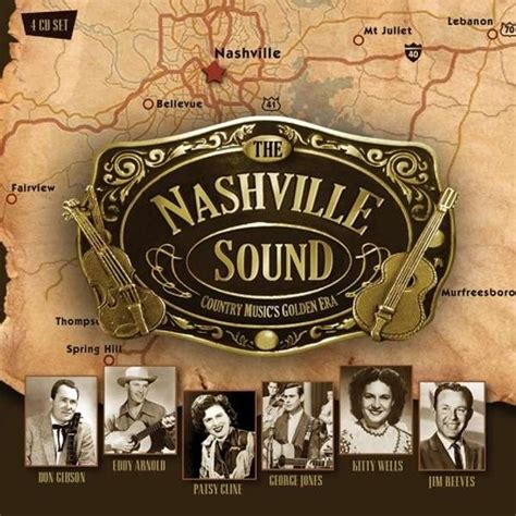country music cs nashville the nashville sound 4 cds jpc