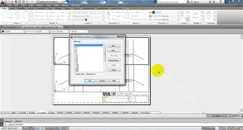 autocad tutorial how to scale autocad 2014 multiple viewports and custom viewport scale