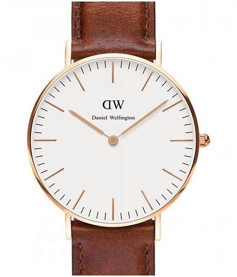 Daniel Wellington Kualitas 2 daniel wellington st mawes dw00100035 de couleur ros 233 montre avec bracelet en cuir