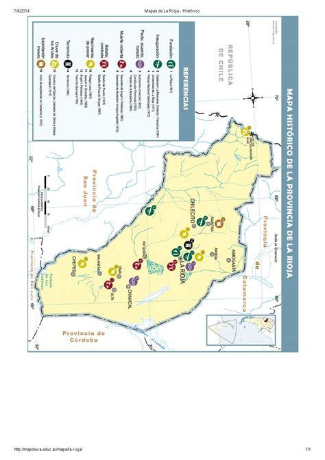 mapoteca la biblioteca de mapas de educ ar mapa para imprimir de la rioja argentina mapa hist 243 rico