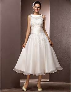 Wedding dresses with wrap tea length jewel 518970 2017 109 99