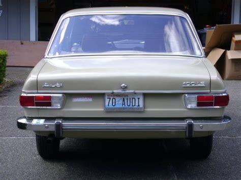 1970s audi 48k original 1970 audi 100ls 2 door bring a trailer