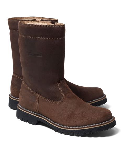 montana boots brothers tecnica montana boots in brown for lyst