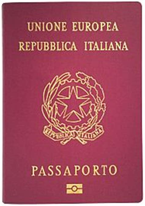 italian passport template italian passport
