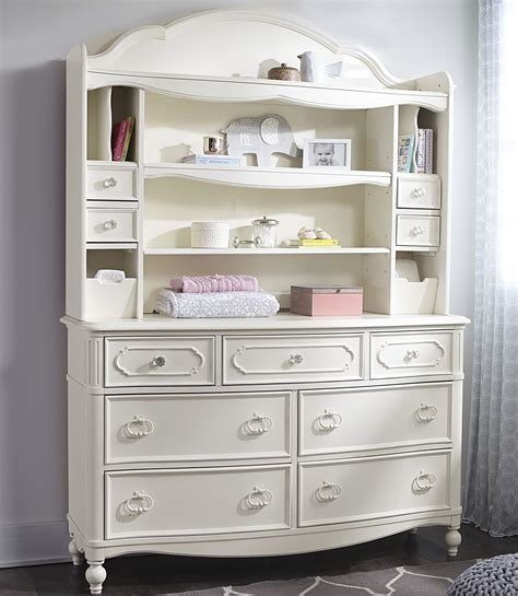 Legacy Classic Kids Harmony Dresser Changing Hutch With Legacy Changing Table