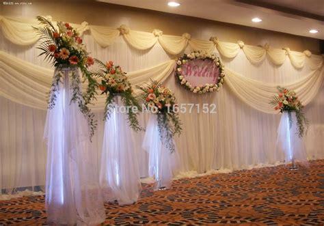 wedding backdrop manufacturers uk aliexpress buy gold wedding backdrop wholesale stage