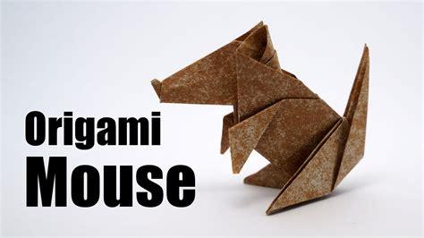 Origami Jo Nakashima - origami mouse jo nakashima