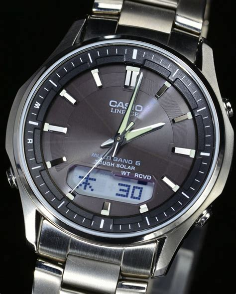 casio lineage new casio lineage lcw m100td 1a3jf tough solar multiband6