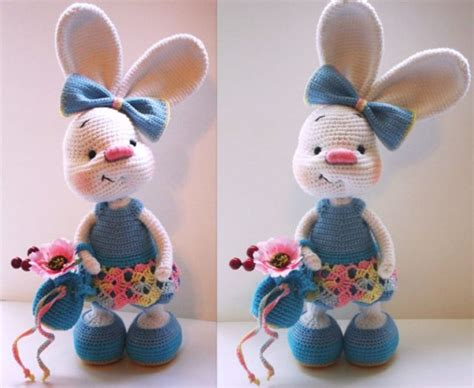 easter crochet easter bunny amigurumi pattern luz patterns cute easter bunny crochet free pattern home design