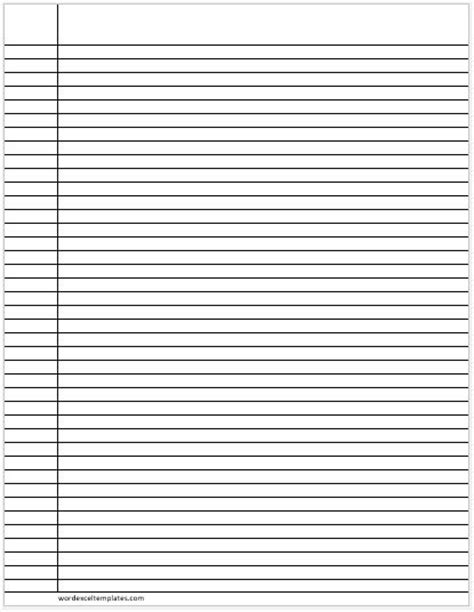 printable lined paper narrow ms word lined papers for handwriting practice word