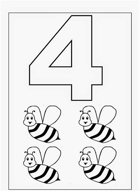 printable coloring pages preschool kindergarten worksheets coloring worksheets maths 1 10