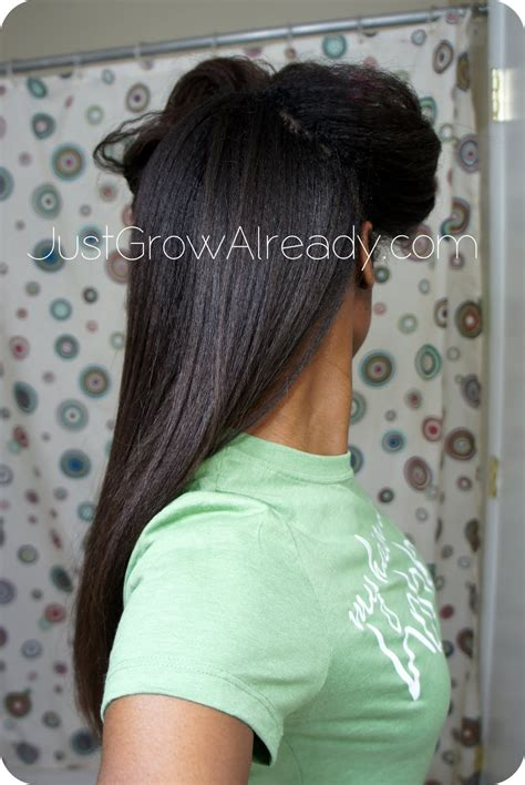 relaxer touch up just grow already