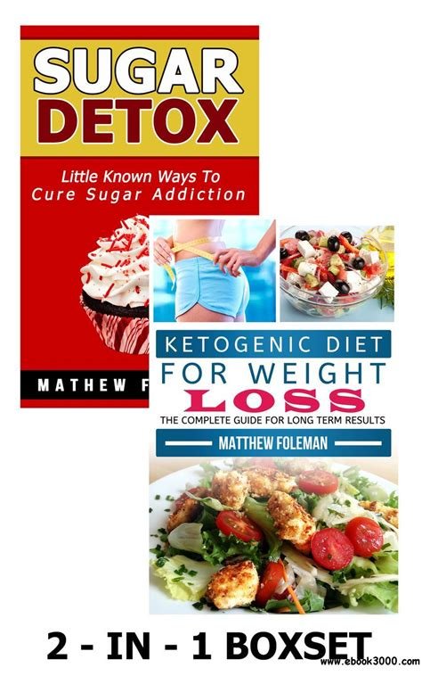 Low Carb Detox Diet by Low Carb Ketogenic Diet Sugar Detox 2 In 1 Boxset