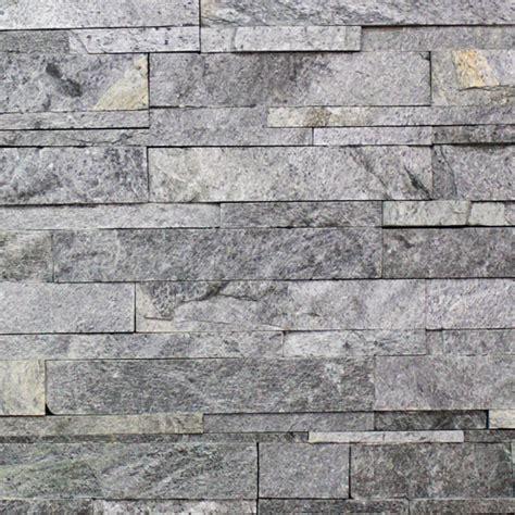 Self Adhesive Kitchen Backsplash Astro Silver Ledgestone Sale Tile Stone Source