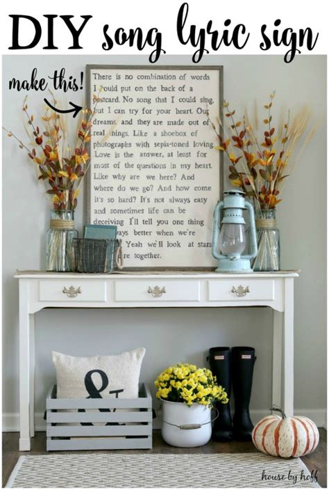 wedding song home 5 diy signs that would work in any house diy signs