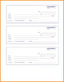 Check Receipt Template by 6 Check Receipt Resume Reference