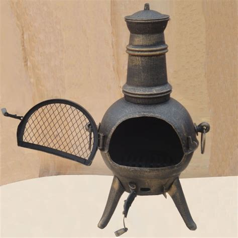 Chiminea Paint Cast Iron Cast Iron Chimineas Sale Fast Delivery Greenfingers