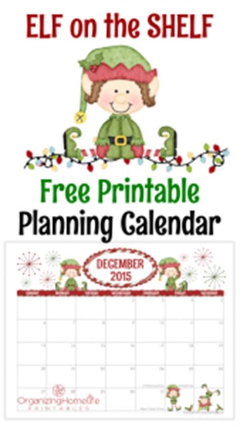 printable elf on the shelf planner free printables archives page 2 of 13 organizing homelife