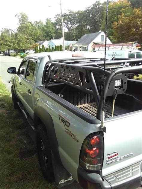 tacoma bed cage bed cage by brute force fab tacoma world