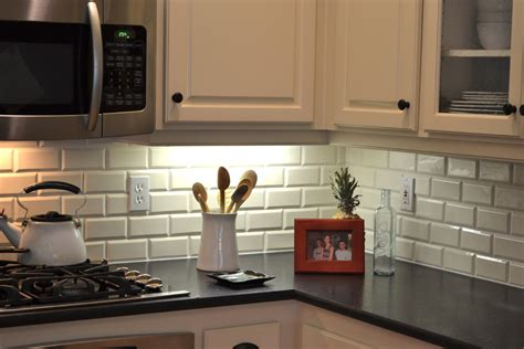 subway tile backsplash in kitchen beveled subway tile backsplash kitchen traditional with