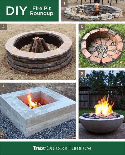 diy pit furniture warm up with a diy pit living outdoors