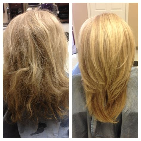 Before And After Layered Haircuts | before and after long layers haircut hairstylegalleries com