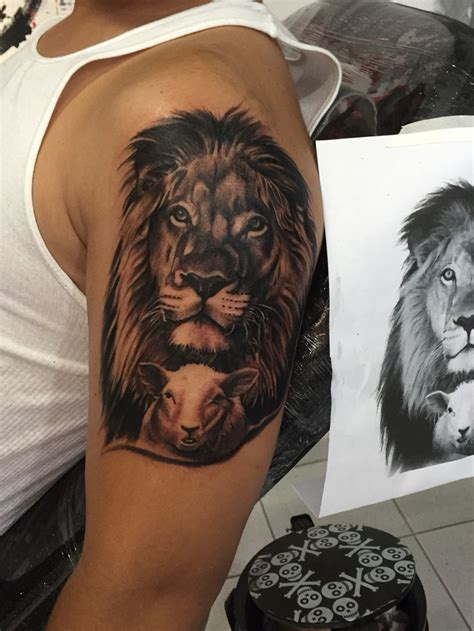 aslan tattoo christian and