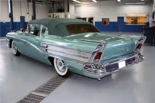 1958 Buick Century For Sale 1958 Buick Century Convertible Barrett Jackson Auction