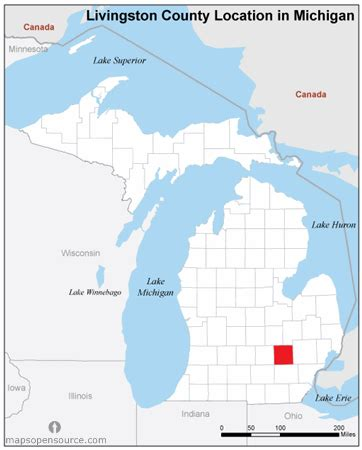 map of livingston county mi free and open source location map of livingston county