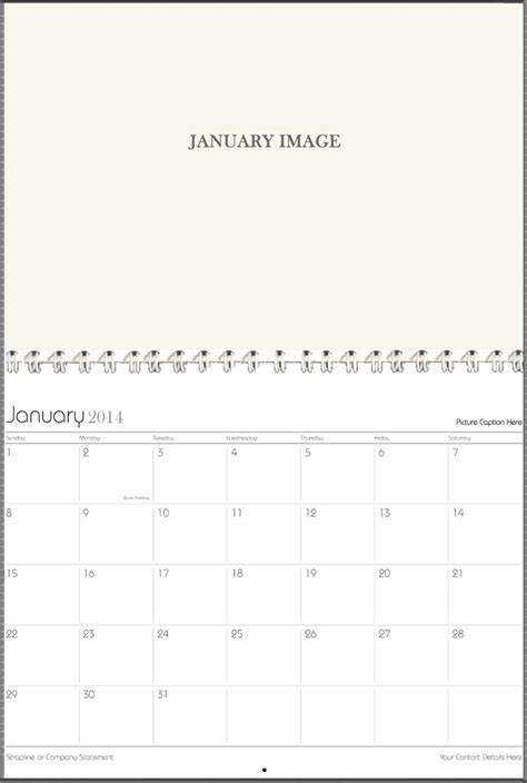 calendar booklet template template of calendar printing4u co uk