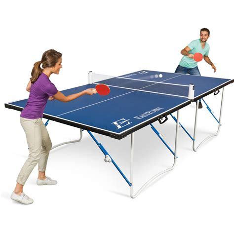 eastpoint sports fold n store table tennis table 12mm eastpoint sports easy setup official size fold n store