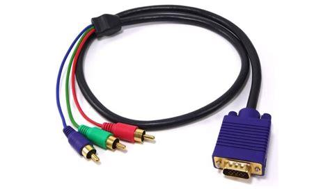 entrada rgb o que 233 cabo rgb descubra quando usar e quais as